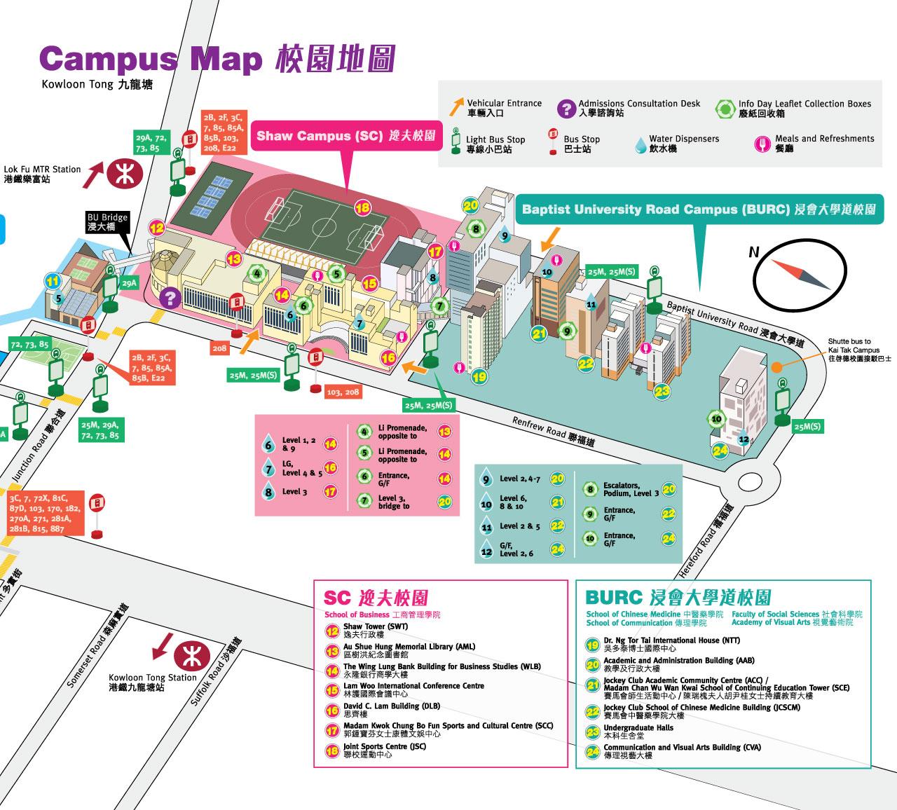 Campus Map Unm